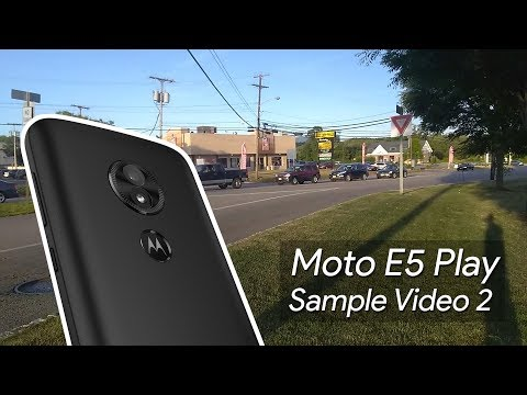 Moto E5 Play Sample Video 2