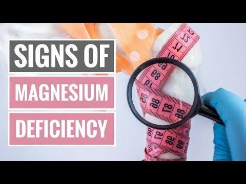 4 Signs and Symptoms of Magnesium Deficiency (видео)