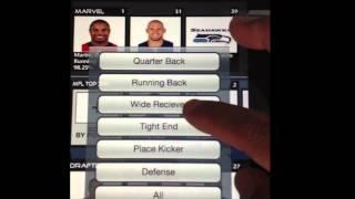 Fantasy Football Draft Asst. YouTube video