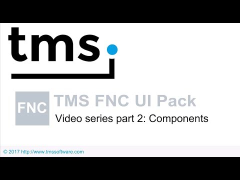 TMS FNC UI Pack Video series part 2 : Components
