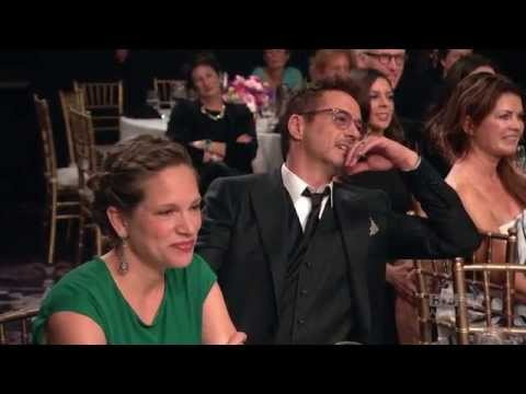 Awards - Robert Downey Jr. (Iron Man, The Judge) accepts the BAFTA Los Angeles Stanley Kubrick Britannia Award for Excellence in Film, presented by his friend, Jamie Foxx (Ray, Collateral, The Amazing...
