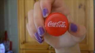 DIY: coca cola lip gloss container - YouTube