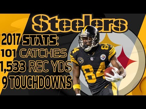 Video: Antonio Brown's Best Highlights from the 2017 Season | NFL
