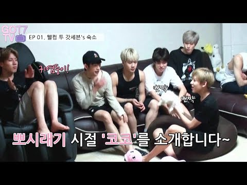 [got7 Tv] Ep 01. 웰컴 투 갓세븐's 숙소 (eng Sub)ㅣwelcome To Got7's Home🏠