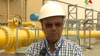 Sonatrach: inauguration de la station de compression GR5 de Hassi R'Mel.