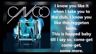 CNCO - Reggaeton Lento (Bailemos) [Lyric Video]