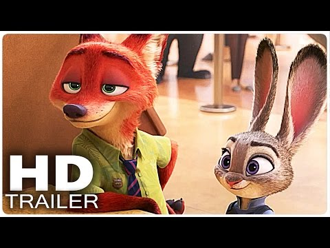 Filmes de animação completos dublados 2017 lançamento - Zootopia Trailer 2  Disney Movie 2016