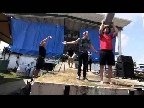 hunter - Hunter accepts the ALS Ice Bucket Challenge from AJ and Ashley! Rascal Flatts and Zac Brown Band, do you accept this challenge? http://alsa.org/donate.