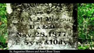 St. Augustine Shivers & Awe YouTube video