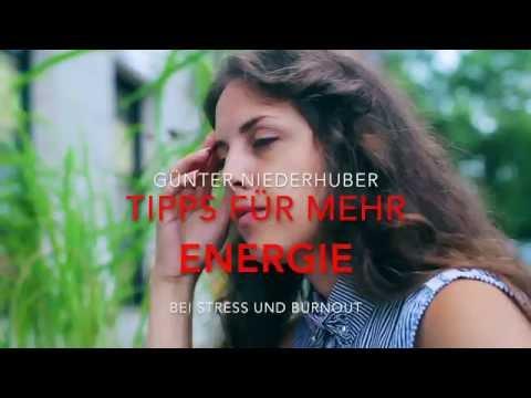 TIPPS FÜR MEHR ENERGIE BEI STRESS UND BURNOUT