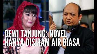 DIALOG-Teror Air Keras Novel Rekayasa? Dewi Tanjung: Novel Hanya Disiram Air Biasa