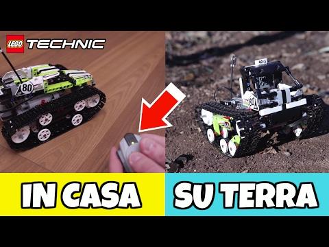 LEGO TECHNIC SPETTACOLARE: proviamo il Racer CINGOLATO TELECOMANDATO