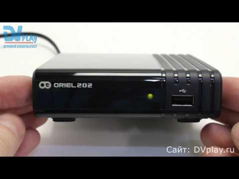 Oriel 202 - обзор DVB-T2 ресивера