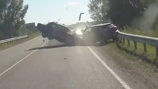 Жесткие аварии 2015 за 1ю неделю Августа
