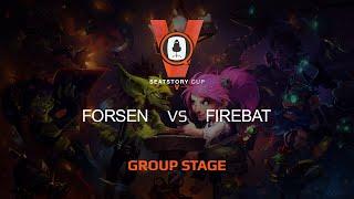 Firebat vs Forsen, game 1