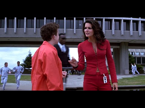 Young Angie Harmon Very Sexy in a Tight Red Busty/Midriff Outfit 1080P BD