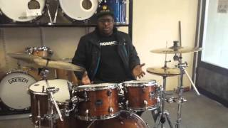 Download Lagu Mapex Armory 6pc Rock Fusion Drum Kit on Kwesi's Corner (video demo) Mp3
