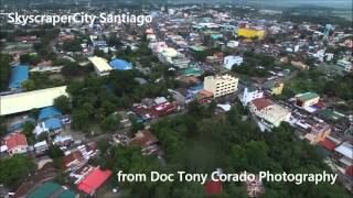 Santiago Philippines  city photos : Aerial View Video of Santiago City, Philippines