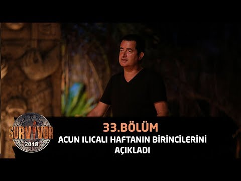 Акан Илıкалı хафтанıн перформанс биринкилерини аçıкладı | 33. Бöлüм| Сарвивор 2018
