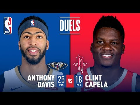 Battle Of The Bigs: Anthony Davis vs Clint Capela
