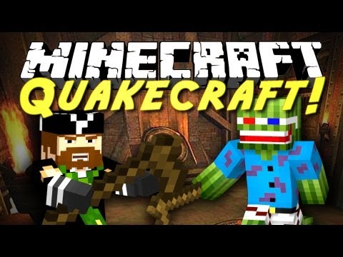 CavemanFilms - I HAVE FOUND MY FAVORITE MINIGAME! YES! Legend of Notch will be out later today! It's a 2 video day special! If you want to play Quakecraft, plug this ip int...