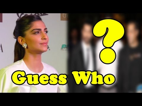 Guess Who Sonam Kapoor Finds Stylish In Bollywood!