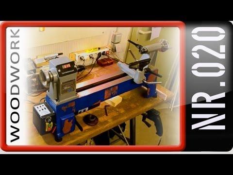 Drechselbank Wood lathe Wagner MC 1018 Maschine im Test