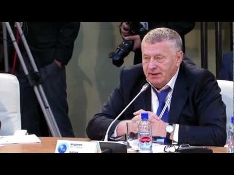Пламеная речь Жириновского в Европарламенте