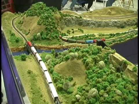 Zscale - I shot this video of a Z scale layout at the March 22, 2009 train show in LaCrosse, WI. I have re-edited the video and deleted the original uploaded yesterda...