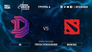 DD vs Invincible, Adrenaline Cyber League, game 3 [Jam, Smile]