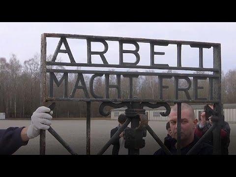 Βρέθηκε στη Νορβηγία η κλεμμένη πύλη του Νταχάου
