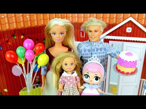КУКЛА ЛОЛ ДЛЯ БЕДНОЙ МАШИ Мультик #Барби Игрушки Куклы LOL Катя Школа (видео)