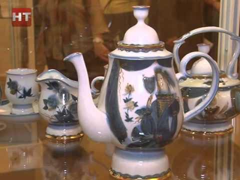 В выставочном зале Музея изобразительных искусств начала работать выставка «Фарфоровые затеи»