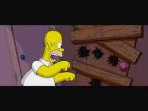"""Simpsons clip 2 """"Chainsaw Gang"""""""