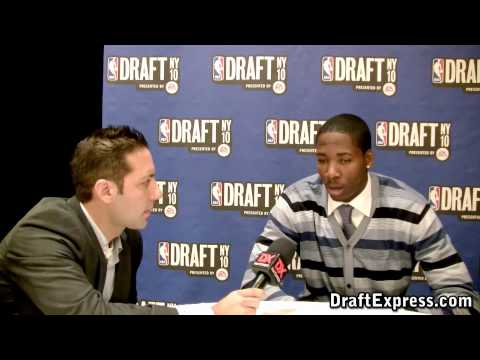 Ed Davis - 2010 NBA Draft Media Day - DraftExpress