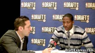 Ed Davis - 2010 NBA Draft Media Day - DraftExpress