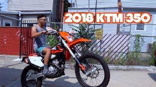 4. 2018 KTM 350 IS BACK!!!