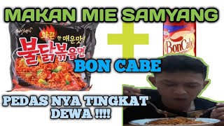 Download Video PRANK SUAMI MAKAN MIE SAMYANG + BON CABE | PEDAS TINGKAT DEWA MP3 3GP MP4