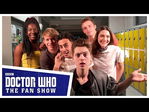 Doctor Who: The Fan Show Meet The Class Cast