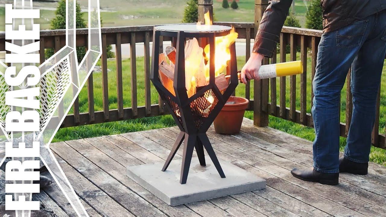 Fire Basket Grill