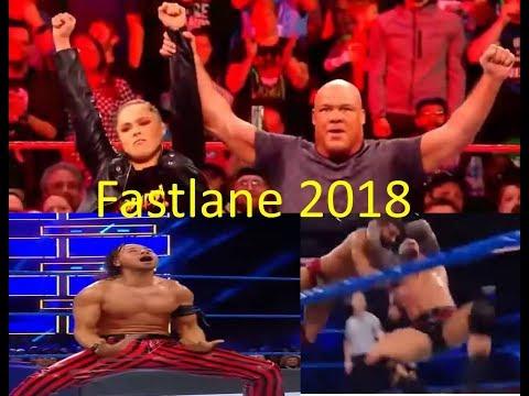 WWE Fastlane Highlights 11 March 2018