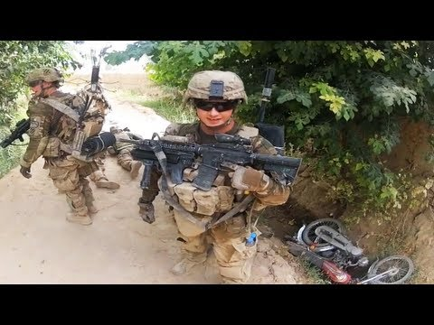 Army - US Army EOD soldiers are ambushed by Taliban fighters during a foot patrol. This is part 2 of this video - http://bit.ly/11L65jX Join the FUNKER530 community...