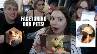 FACETUNING OUR ANIMALS! W/ Taylor Nicole Dean, Pickles Pets and Emilee Rose by Emma Lynne Sampson
