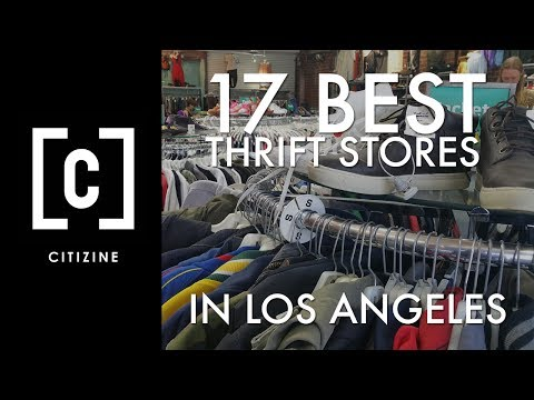 17 Best Thrift Stores in Los Angeles