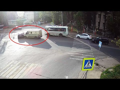 ДТП в Серпухове на улице Пушкина