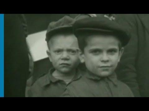 Orphelins juifs en route pour la France après la Shoah à bord du train Hatzala de Herzog