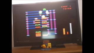 BurgerTime: Skill 4 (Colecovision Emulated) by DuggerVideoGames
