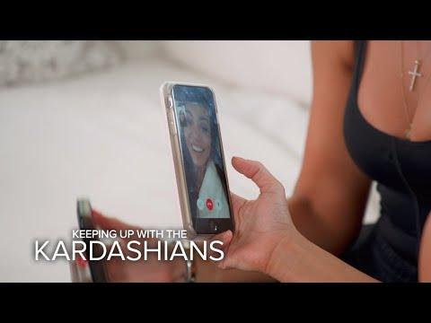 KUWTK | Kourtney Kardashian Plays Coy About Relationship Status | E!
