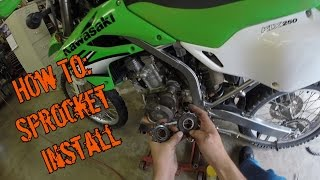 10. How To: Sprocket Removal and Installation (KLX250s)