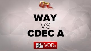 CDEC.A vs WAY, game 2
